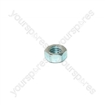 M5 C/f Hex M/c Nut Zn