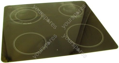 Hotpoint C367ewh Ceramic Hob Glass Assy White C00225795