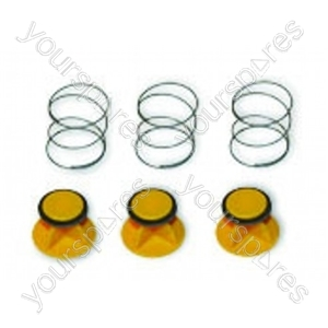 Bleed Valve Air Assembly Yellow