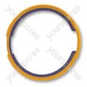 Facia Seal Purple Yellow