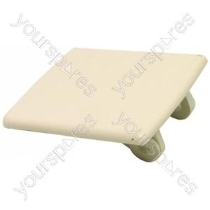 Indesit White Tumble Dryer Door Handle