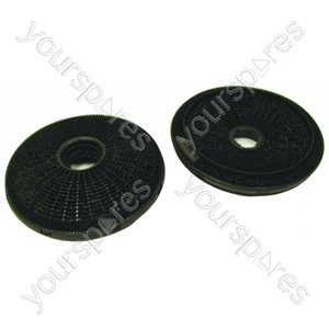 Hoover Cooker Hood Carbon Filters - Pack of 2