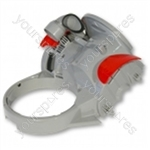 Motor Cover Upper Silver/red