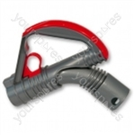 Wand Handle Assembly Steel/scarlet