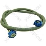 Hotpoint 1258CD3B Mains Inlet Hose Cold 25c 10bar 1,5m Roh