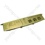 Indesit Washing Machine Control Panel and Drawer Handle