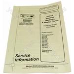 Indesit WDE12UK Service Manual
