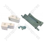 Crosslee CL427 White Knight () Tumble Dryer Door Hinge Kit