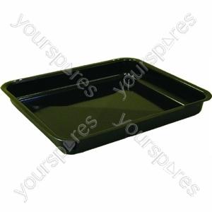 Enamelled Grill Pan Black 330x279x40