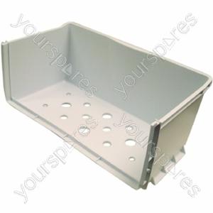 Indesit Polar White Lower Freezer Drawer Body - 433 x 277 mm
