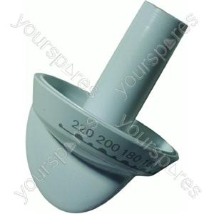 Indesit White Main Oven Control Knob