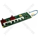 Indesit WIL133UK Control Card Led 2 Knobs Ind.evoii