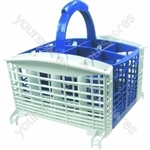 Hotpoint Blue and White Dishwasher Cutlery Basket