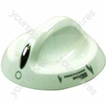 Indesit Top Oven White Grill Knob