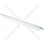 Indesit Fridge White Plastic Rear Shelf Guard