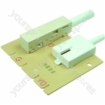 Indesit Oven Timer Assembly - w/6 Green Buttons