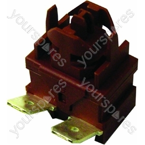 Hotpoint Push switch s/pole Spares