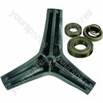 Hotpoint WF430P Drum Spider Support and Bearing Kit 35mm