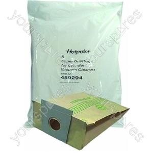 Indesit Paper Bag - Pack of 5