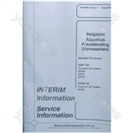Hotpoint DWF50PT Service Manual