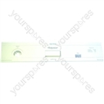 Indesit White Plastic Dishwasher Control Panel Fascia