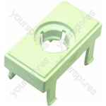Hotpoint 9989P White Door Release Button Outer Assembly