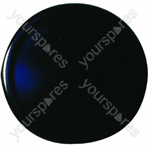Indesit Gas Hob Black Burner Cap - D: 55mm