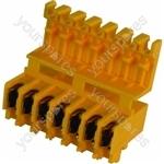 Indesit Motor plug flat pin
