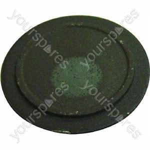Indesit Black Medium/Semi-Rapid Gas Hob Burner Cap