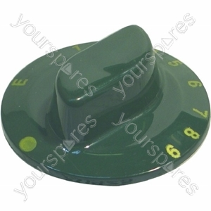 Indesit Oven Control Knob (Green)