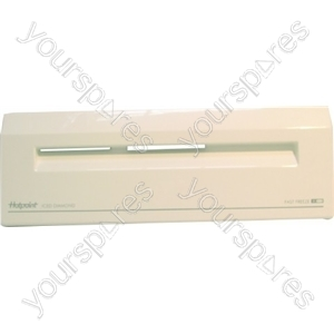 Indesit White Freezer Basket Front