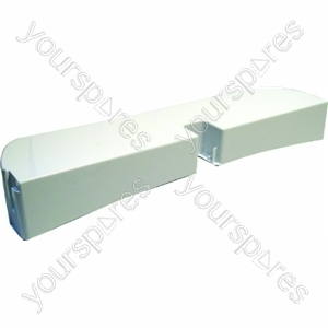 Indesit White Full Width Fridge Door Shelf