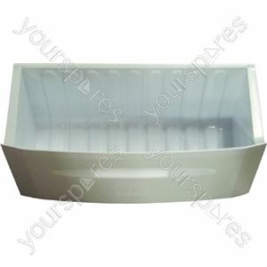 Hotpoint White Plastic Bottom Freezer Drawer
