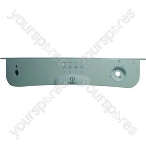 Indesit White Dishwasher Control Panel Fascia