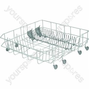 Indesit White Dishwasher Lower Basket
