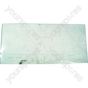 Indesit Glass Crisper Cover/Bottom Fridge Shelf