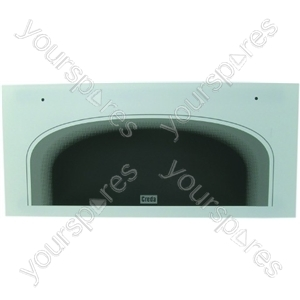 Indesit Top Oven/Grill Outer Door Glass