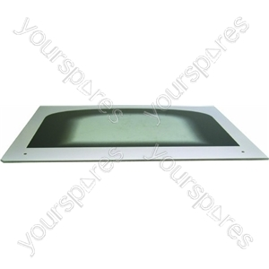 Indesit White Main Oven Glass Outer Door