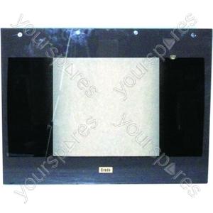 Creda Brown Main Oven Outer Door Glass