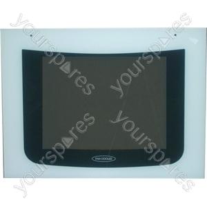 Oven Door Glass White