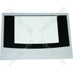 Cannon 10375G MK4 Main Oven Outer Door Glass w/ White Detail