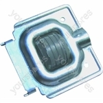 Hotpoint WF430P Washing Machine Wheel & Bracket Assembly