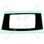 Cannon 10579G Main Oven Door Glass Silver