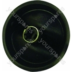 Indesit Black Cooker Knob Assembly