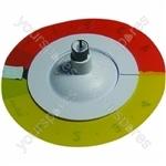 Indesit Orange/Yellow/Black Grill Control Knob & Disc