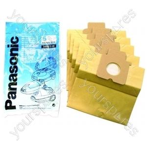 Panasonic Vacuum Paper Bag - Pack of 5