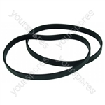Panasonic Vacuum Brushroll Belts - Pack of 2