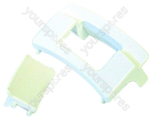 Hotpoint 9324 Door Handle Kit White Dt66 By Yourspares