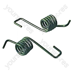Door Springs Belling Top Oven
