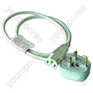 Kettle Lead Straight 10 Amp With 13 Amp Plug